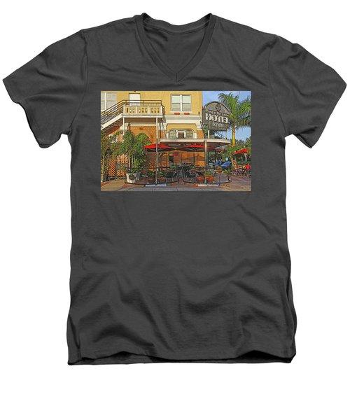 The Ponce De Leon Hotel Men's V-Neck T-Shirt