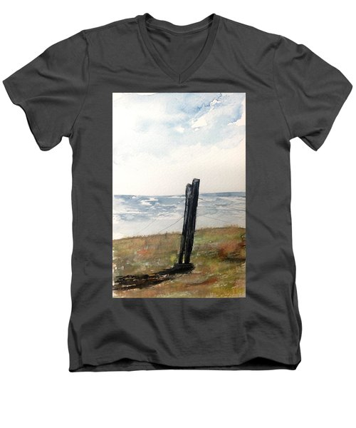 The Post Men's V-Neck T-Shirt