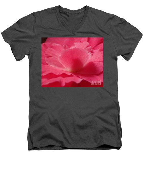 The Power Of Pink Men's V-Neck T-Shirt