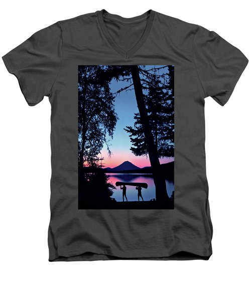 The Power Of Two Men's V-Neck T-Shirt
