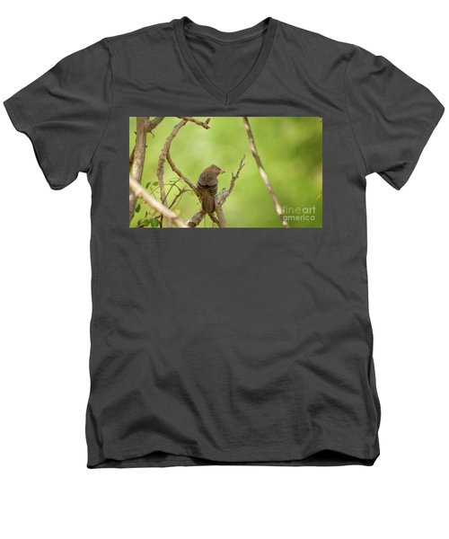 The Pray  Men's V-Neck T-Shirt