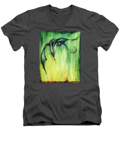 The Predator Men's V-Neck T-Shirt