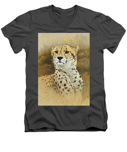 The Prince - Cheetah Men's V-Neck T-Shirt