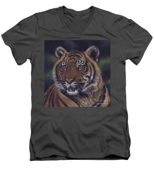 The Prince Of The Jungle Men's V-Neck T-Shirt