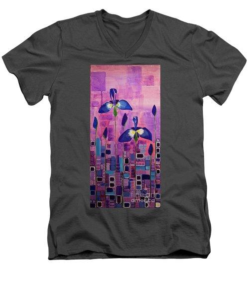 The Promise Of Tomorrow Men's V-Neck T-Shirt