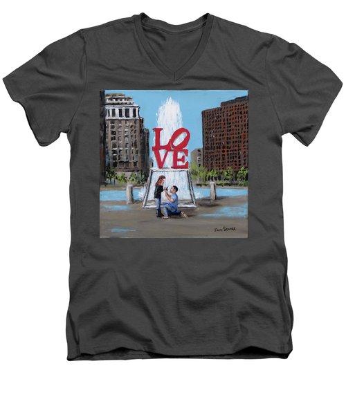 The Proposal Men's V-Neck T-Shirt