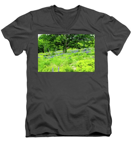 Men's V-Neck T-Shirt featuring the photograph The Protector by Greg Fortier