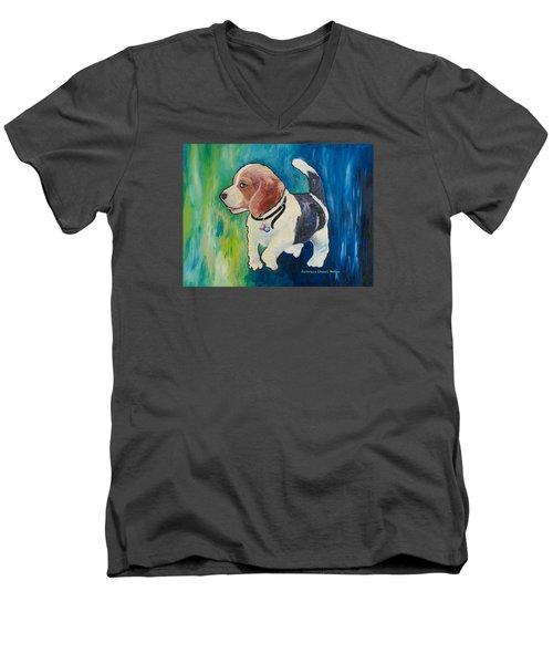 The Proud Puppy Men's V-Neck T-Shirt
