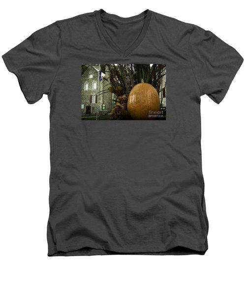 The Pumpkin. Men's V-Neck T-Shirt