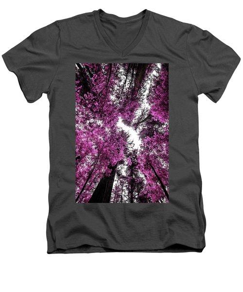 The Purple Forest Men's V-Neck T-Shirt