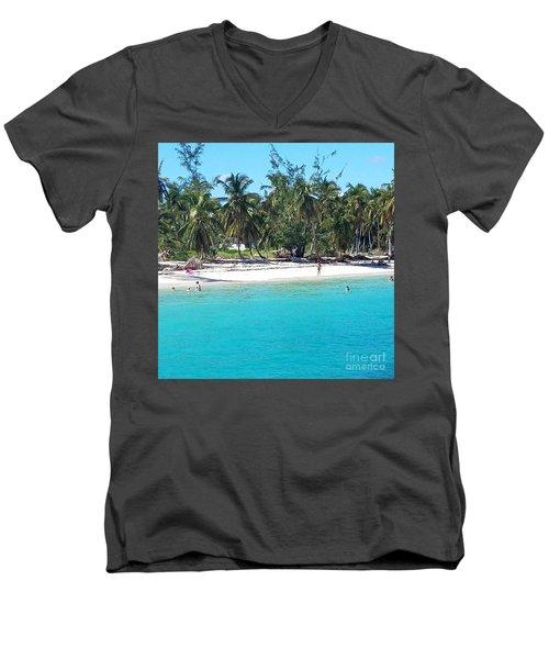 The Quiet Zone Men's V-Neck T-Shirt