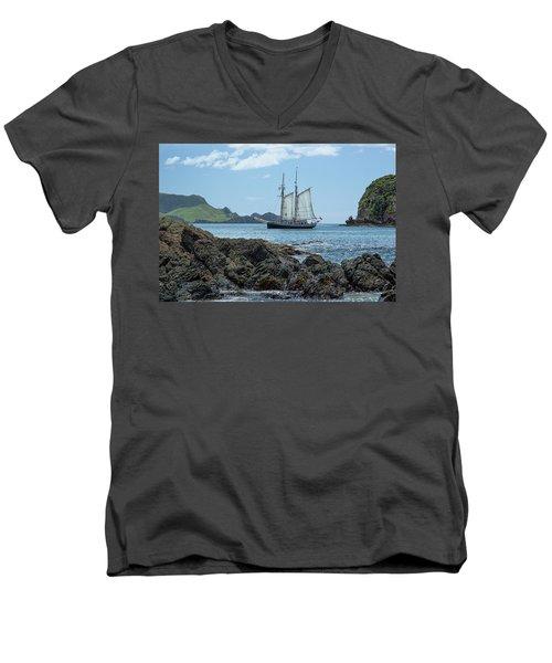 The R Tucker Thompson Men's V-Neck T-Shirt