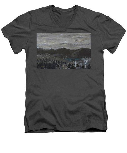 The Range Men's V-Neck T-Shirt