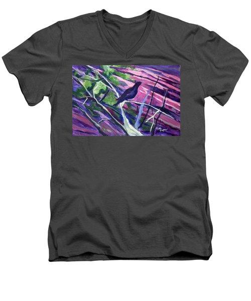 The Raven Men's V-Neck T-Shirt