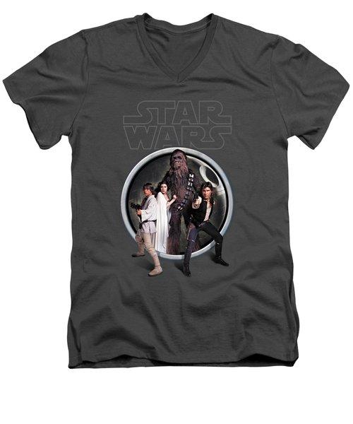 The Rebels Men's V-Neck T-Shirt