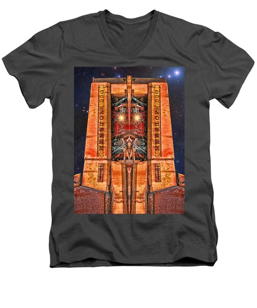 The Recycled King Men's V-Neck T-Shirt