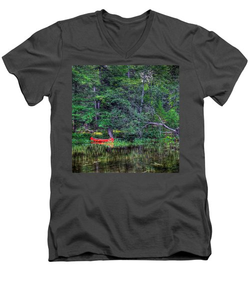 The Red Canoe Men's V-Neck T-Shirt