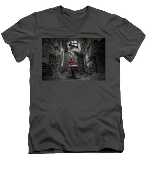 The Red Chair Men's V-Neck T-Shirt