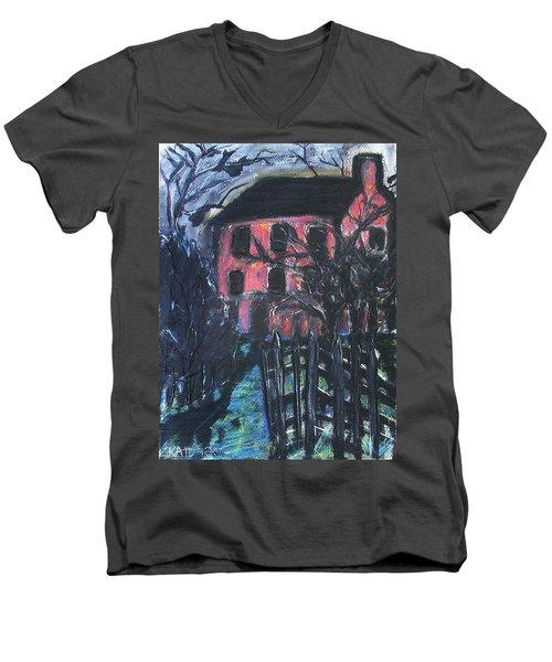The Red House Men's V-Neck T-Shirt
