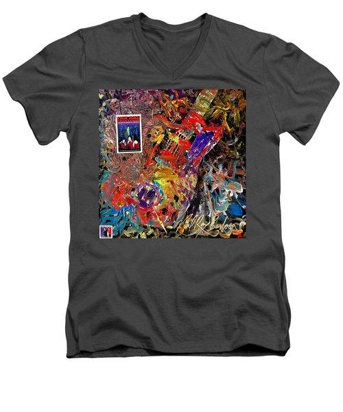 The Red Paintings Men's V-Neck T-Shirt