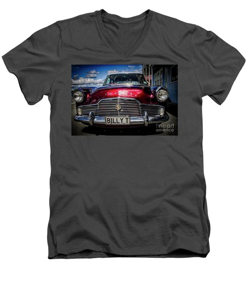 The Red Zephyr Men's V-Neck T-Shirt