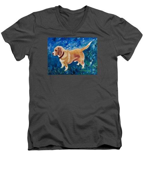The Regal Beagle Men's V-Neck T-Shirt