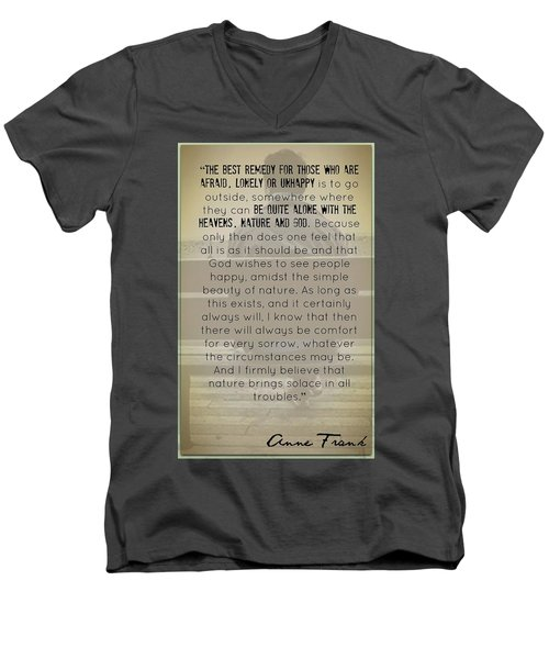 The Remedy Men's V-Neck T-Shirt