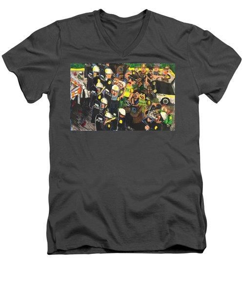 The Response  Men's V-Neck T-Shirt