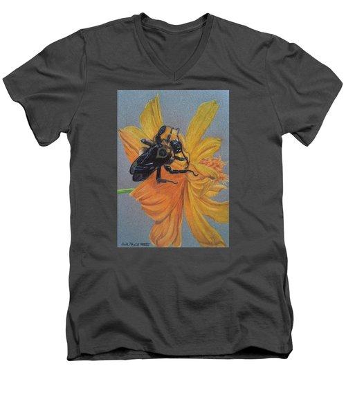 The Resting Place Men's V-Neck T-Shirt by Anita Putman