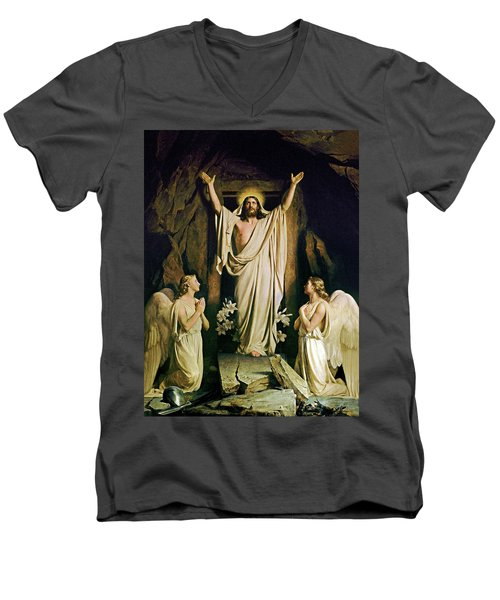 The Resurrection Men's V-Neck T-Shirt