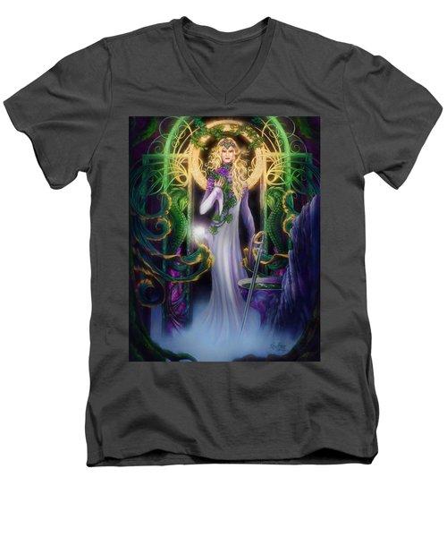The Return Of Ithwenor Men's V-Neck T-Shirt