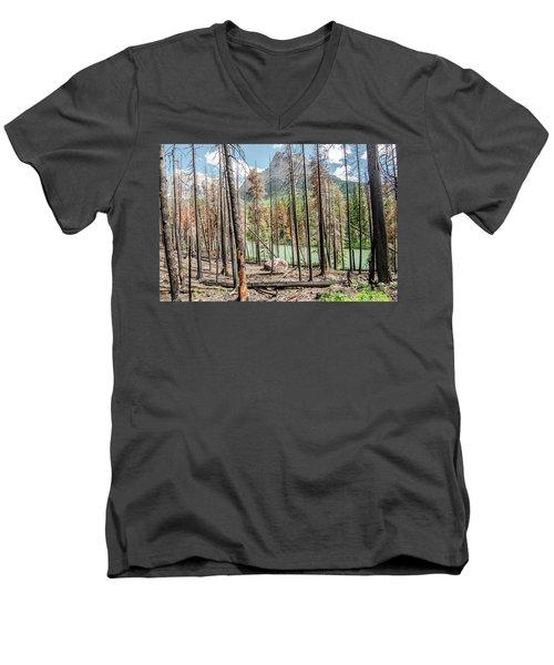 The Revealed View Men's V-Neck T-Shirt