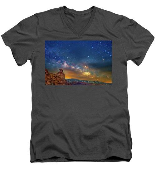 The Rift Men's V-Neck T-Shirt