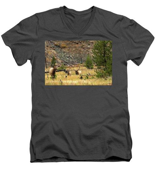 The Right Breeze Men's V-Neck T-Shirt