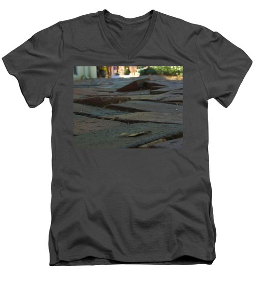 The Rising Dead Of Savannah Men's V-Neck T-Shirt