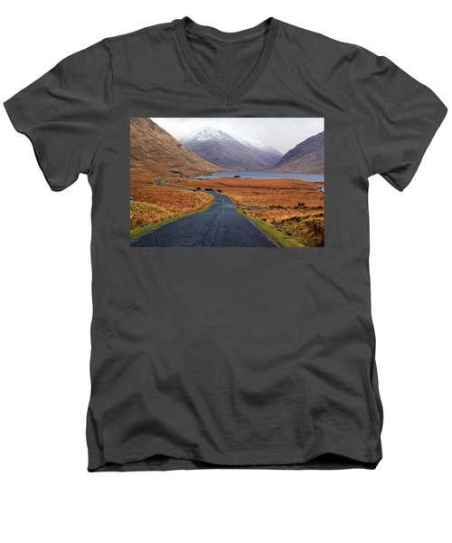 The Road In Men's V-Neck T-Shirt