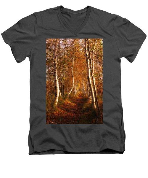 The Road Not Taken Men's V-Neck T-Shirt
