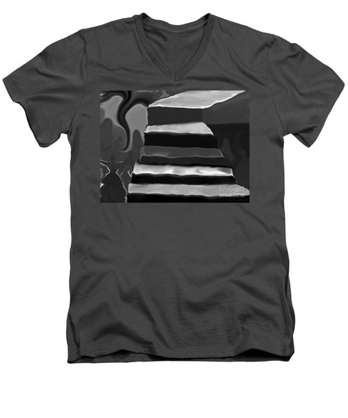 The Road To Despair Men's V-Neck T-Shirt