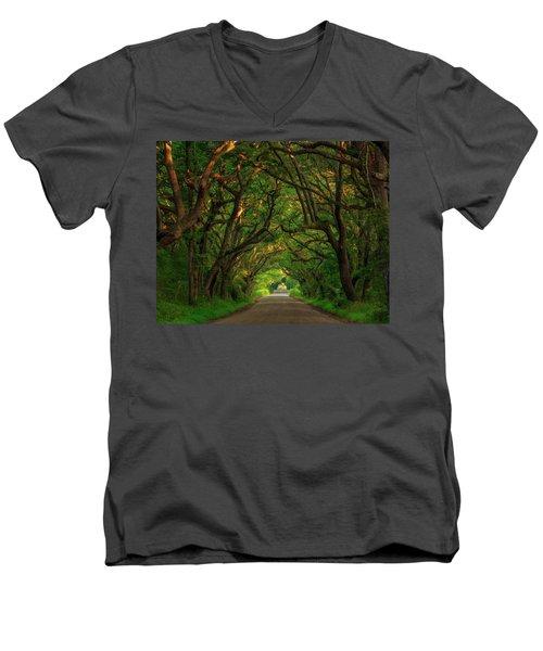 The Road To Heven  Men's V-Neck T-Shirt
