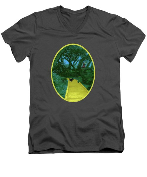 The Road To Oz Men's V-Neck T-Shirt