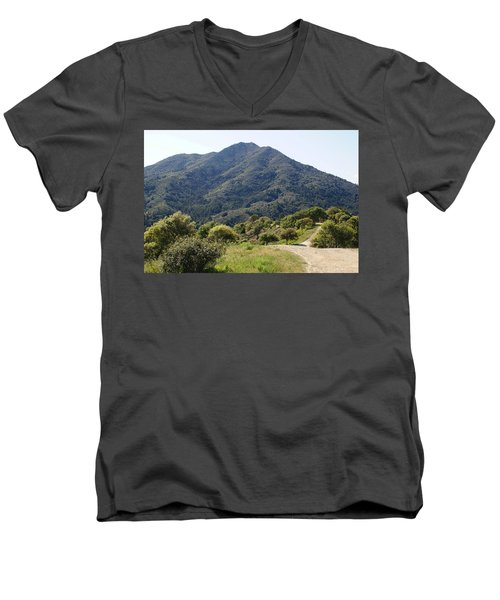The Road To Tamalpais Men's V-Neck T-Shirt