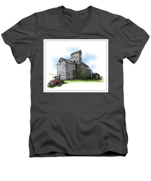 The Ross Elevator Spring Men's V-Neck T-Shirt