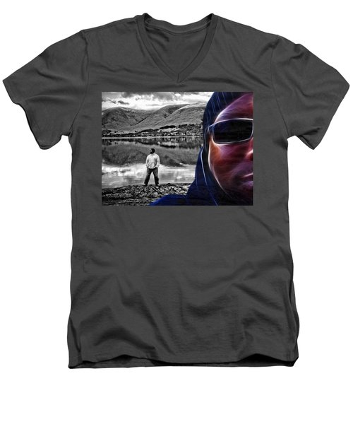 The Rough And The Rugged Men's V-Neck T-Shirt