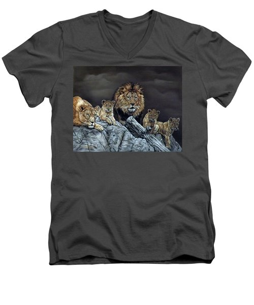 The Royal Family Men's V-Neck T-Shirt