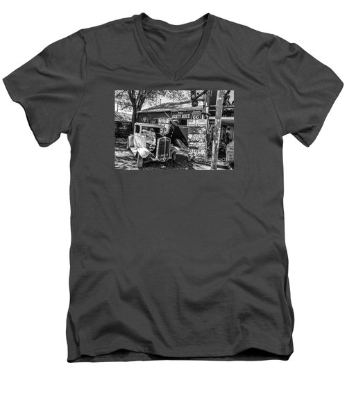 The Rusty Bolt Men's V-Neck T-Shirt by Anthony Sacco