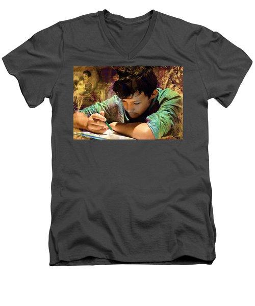 The Sacrifice Men's V-Neck T-Shirt
