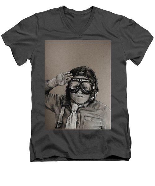 The Salute Men's V-Neck T-Shirt