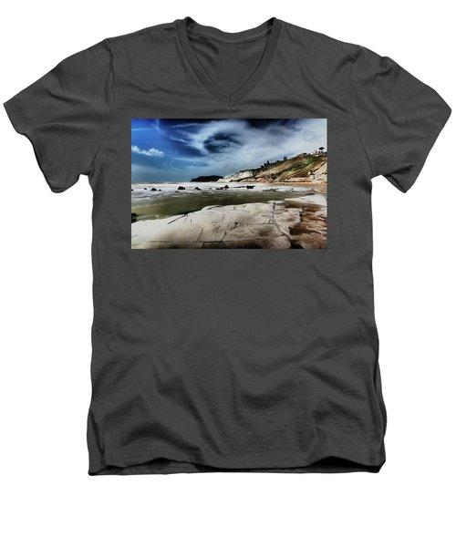 The Scala Dei Turchi II Men's V-Neck T-Shirt by Patrick Boening