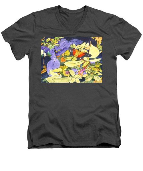 The Scarlet Peacock Men's V-Neck T-Shirt