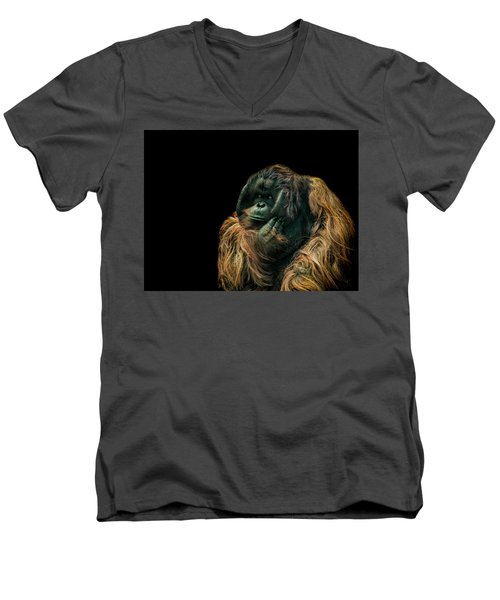 The Sceptic Men's V-Neck T-Shirt